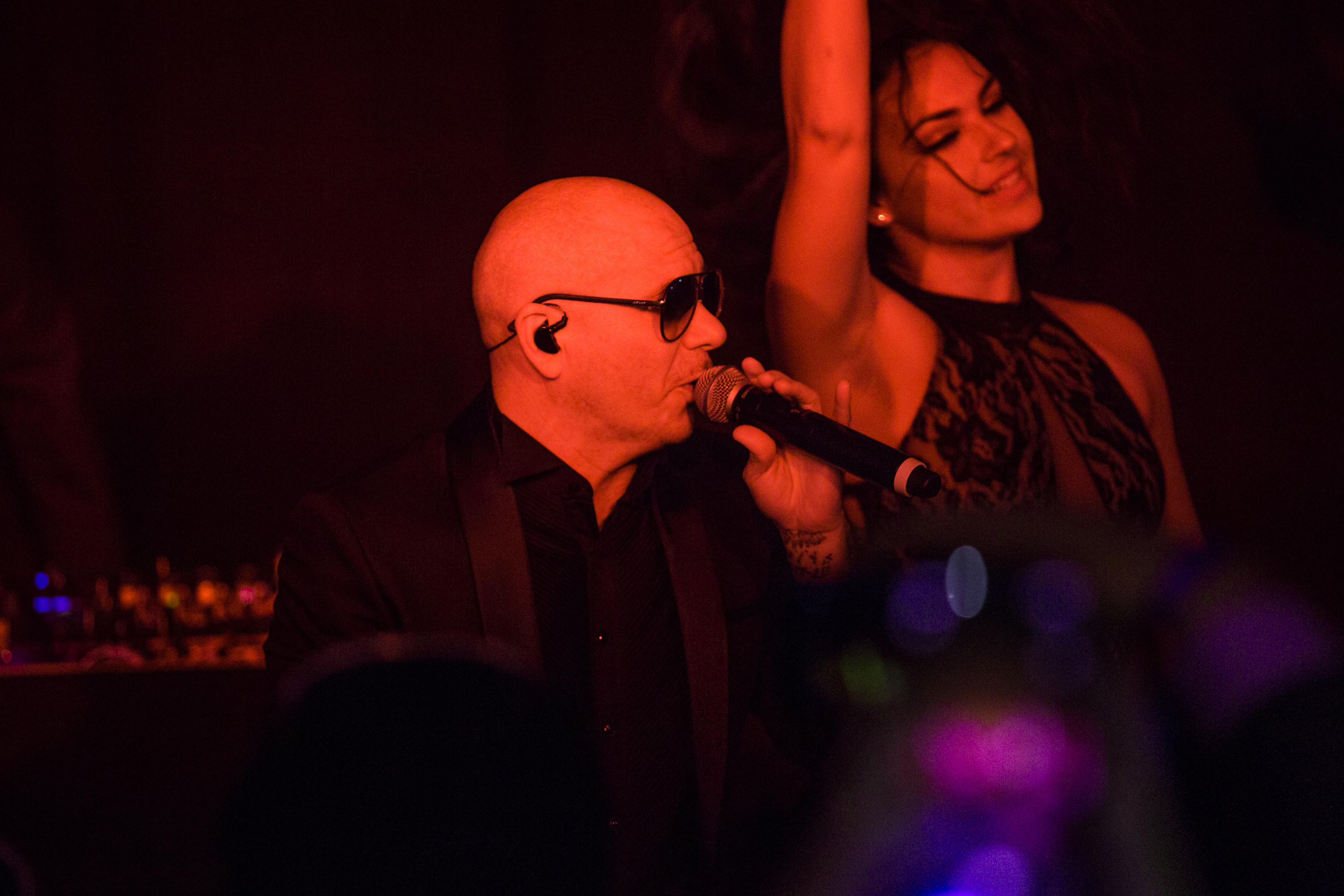 Gnf Executes Las Vegas Event With Performance By Pitbull For Dell